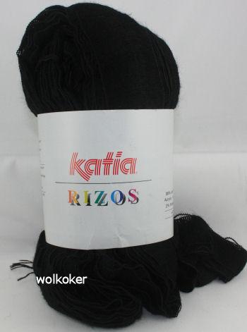 Rizos Katia 99 zwart-0
