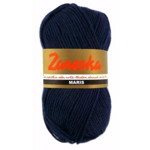 sokkenwol Zareska Maris 1951 donkerblauw