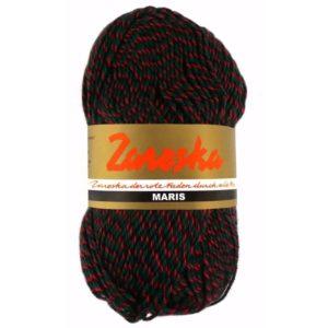sokkenwol Zareska Maris 1996 rood groen zwart