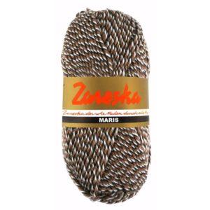 Zareska Maris 9975 donkerbruin bruin wit-0