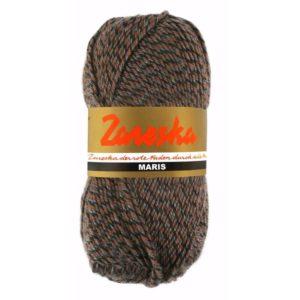 sokkenwol Zareska Maris 9977 zwart bruin grijs