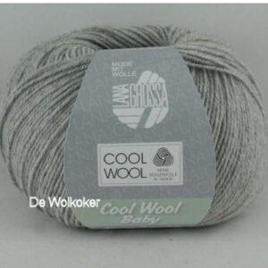 Cool Wool Baby 206 lichtgrijs