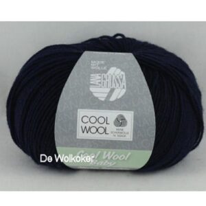 Cool Wool Baby 210 donkerblauw