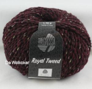 Royal Tweed 071 donkerrood-0