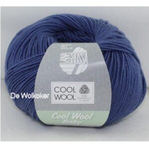 Cool Wool Baby 209 jeansblauw