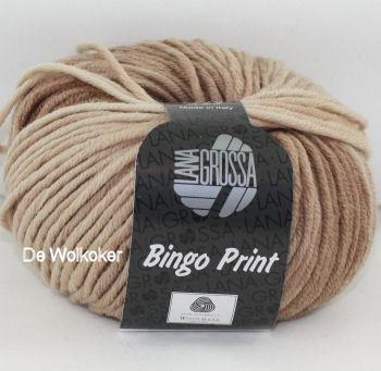 Bingo print 609 beige-0