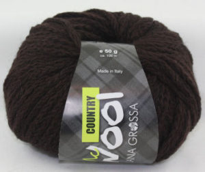 Mc Wool Country 008 donkerbruin-0