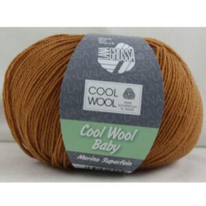 Cool Wool Baby 233 roestbruin
