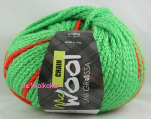 Chain 104 neongroen oranje-0