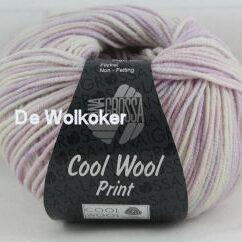 Merino Cool Wool print 747 roze/lila-0