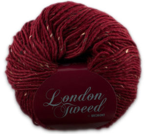 London Tweed 802 bordeaux-0