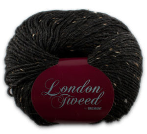 London Tweed 806 antraciet-0