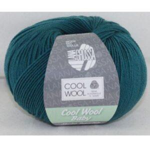 Cool Wool Baby 249 zeegroen