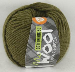 Mc Wool 80 cotton mix 528 mosgroen-0