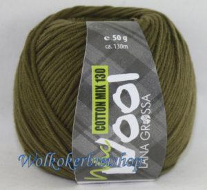 Mc Wool 130 cotton mix 128 mosgroen-0
