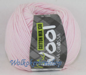 Mc Wool 130 cotton mix 131 baby roze-0