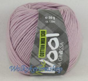 Mc Wool 130 cotton mix 132 oudroze-0