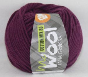 Mc Wool 80 cotton mix 533 aubergine-0
