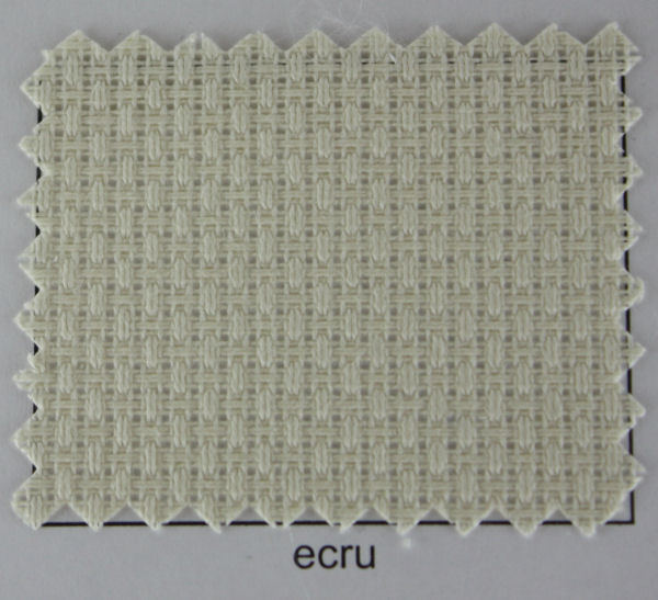 Aïda stof 140 cm breed, 5,5 ecru (prijs per 10 cm)-0