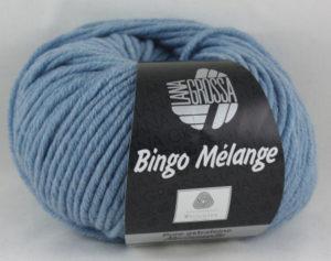 Bingo Melange 236 zacht blauw-0
