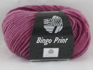 Bingo print 624 roze bordeaux-0