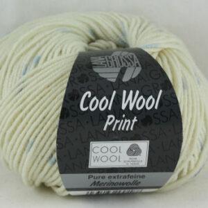 Merino Cool Wool print 803 punto ecru blauw-0