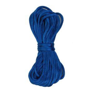Kumihimo satijnkoord 215 blauw