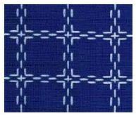 Beiersbont blauw wit 5421, 160 breed (prijs per 10 cm)-0
