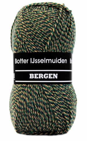 Bergen Botter IJsselmuiden 185 groen oker zwart-0
