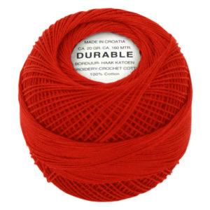 Durable Borduur- en Haakatoen rood 1011-0