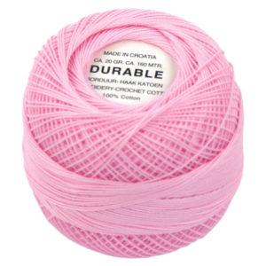 Durable Borduur- en Haakatoen roze 1026-0
