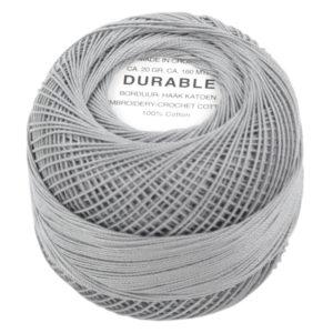 Durable Borduur- en Haakatoen grijs 1041-0