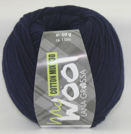 Mc Wool 130 cotton mix 117 donkerblauw-0