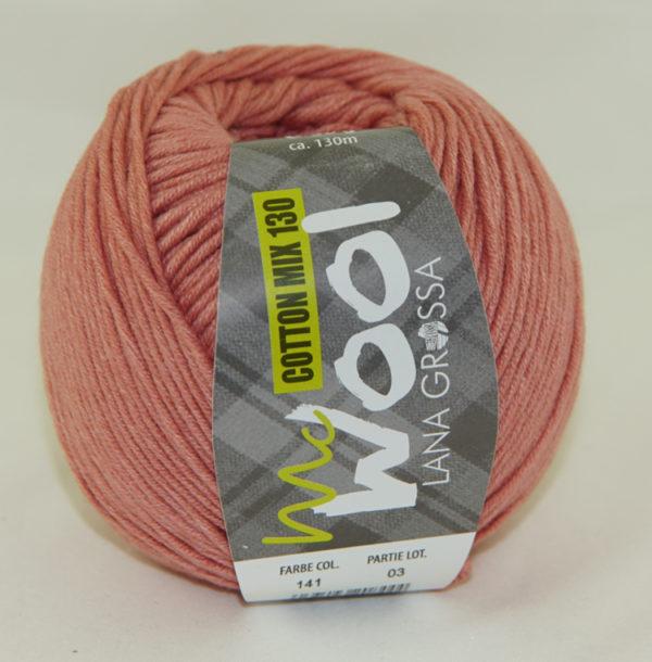 Mc Wool 130 cotton mix 141 donkerzalm-0