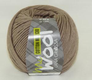 Mc Wool 130 cotton mix 144 taupe-0