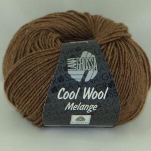 Merino Cool Wool melange 144 chocoladebruin-0