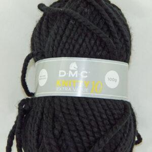 DMC Knitty-10 965 zwart-0