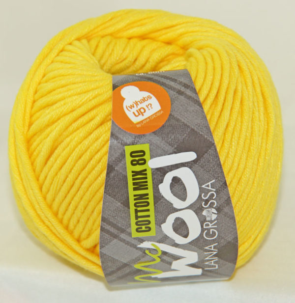 Mc Wool 80 cotton mix 551 geel-0