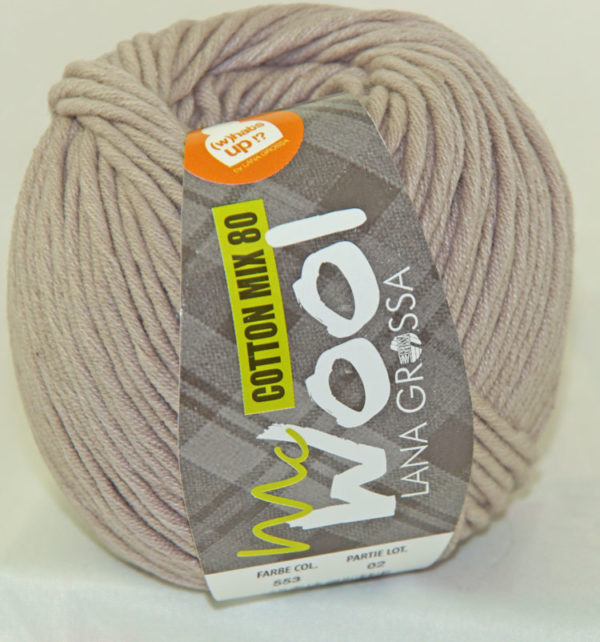 Mc Wool 80 cotton mix 553 lichttaupe-0