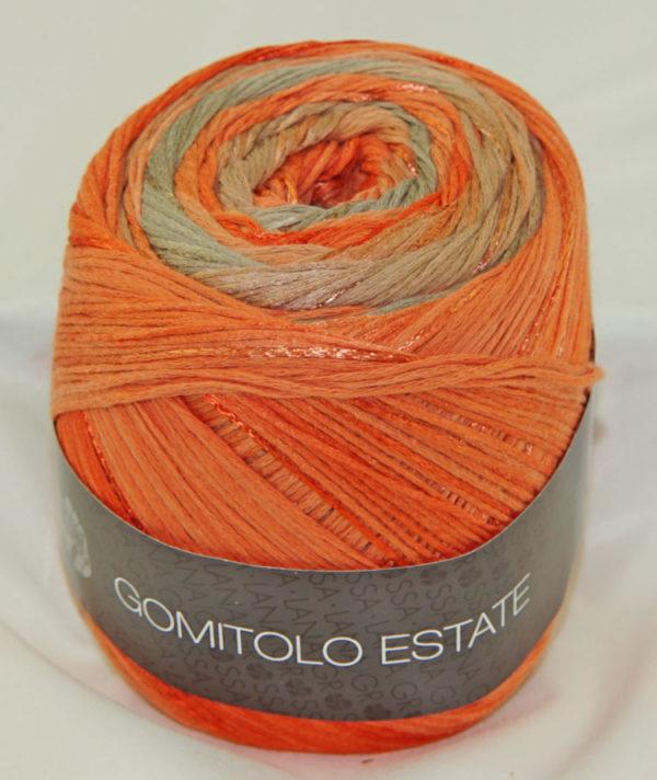 Gomitolo Estate 301 oranje beige-0