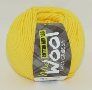 Mc Wool 130 cotton mix 151 geel-0