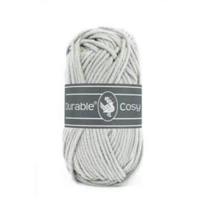 brei-haakkatoen Durable Cosy 2228 Silver grey