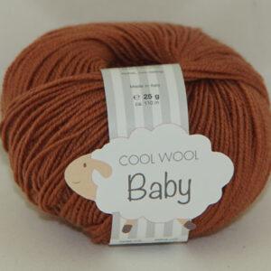 Cool Wool Baby 25 gram 272 roestbruin