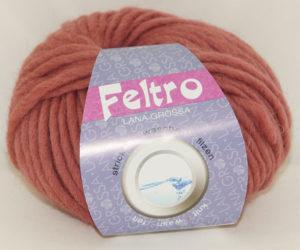 Feltro lana grossa 084 Brique
