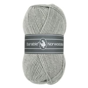 Durable Norwool Plus 004 licht grijs-0