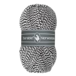 Durable Norwool Plus M000 zwart wit-0