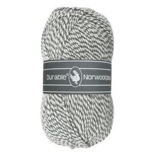 Durable Norwool Plus M004 grijs wit