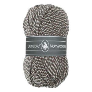 Durable Norwool Plus M04932 bruin grijs wit