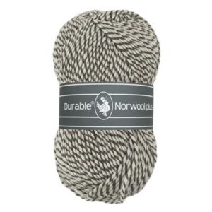 Durable Norwool Plus M932 bruin wit