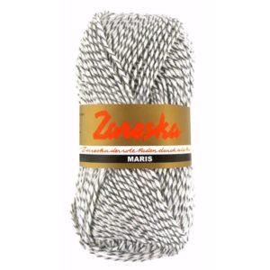 sokkenwol Zareska Maris 9978 grijs wit